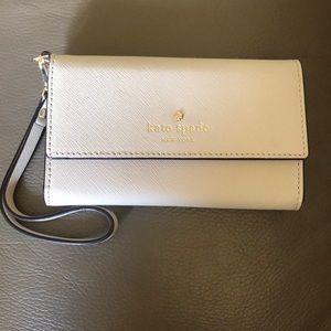 Kate Spade phone/wallet wristlet